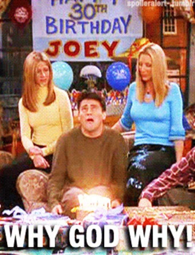 Friends Birthday Meme Joey