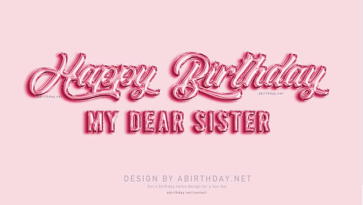Balloon Sister Birthday Meme