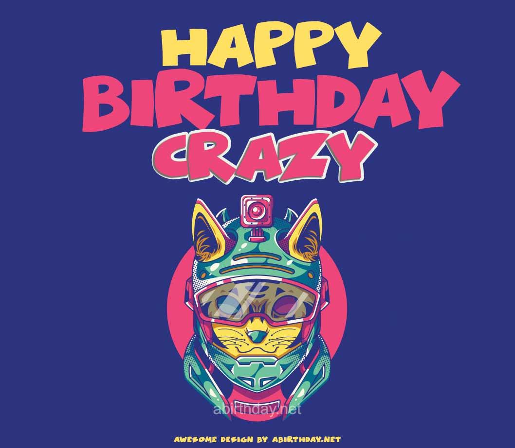 Happy Birthday Crazy Cat Meme